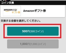 500円選択
