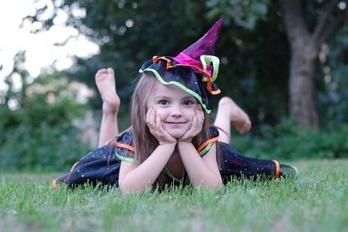 女の子ハロウィン