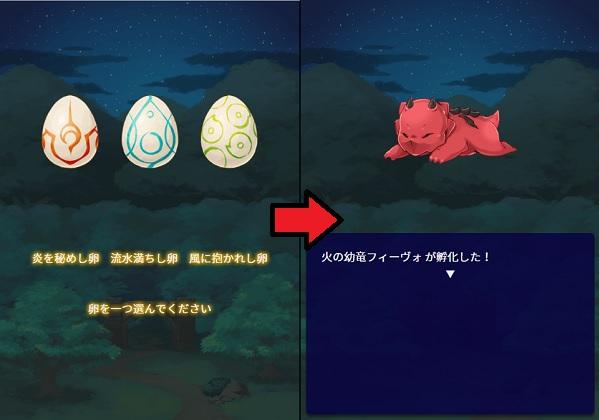 卵選択から羽化まで