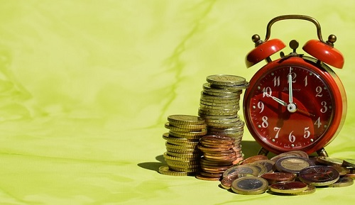 コインと時計