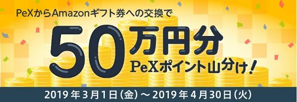 PeX50万円分