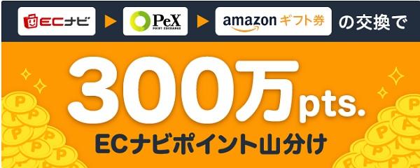 300万pts山分けキャンペーン