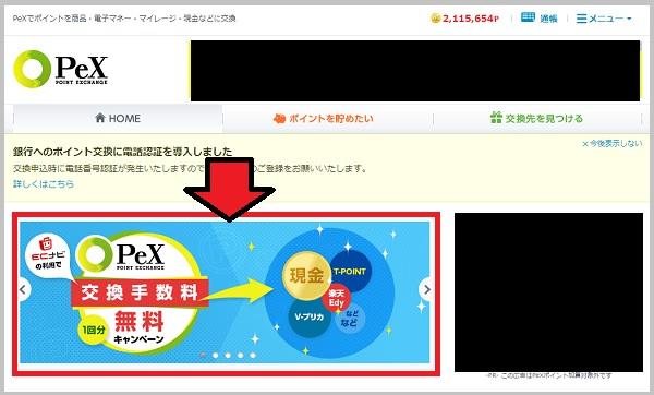 PeXTOPページ
