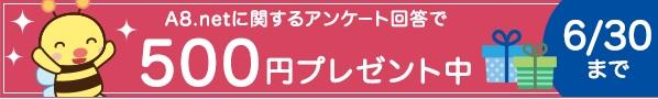 500円プレゼント中