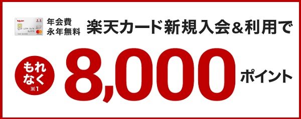8000ポイント