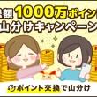 総額1000万ポイント山分けキャンペーン