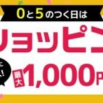 【ライフメディア】ショッピング広告利用で最大1,000円分が貰える!0と5のつく日限定!